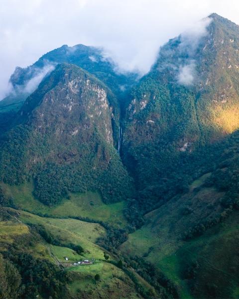 Paramo Trek - Colombia - Drone photo