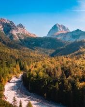 Mangart - Slovenia - Drone photo