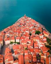 Piran - Slovenia - Drone photo