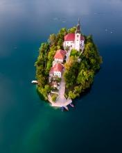 Lake Bled - Slovenia - Drone photo