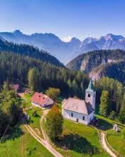Logar Valley - Slovenia - Drone photo