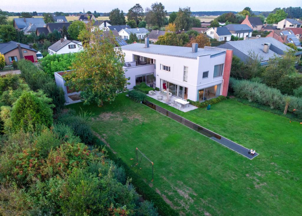 Real estate photo: villa in Belgium