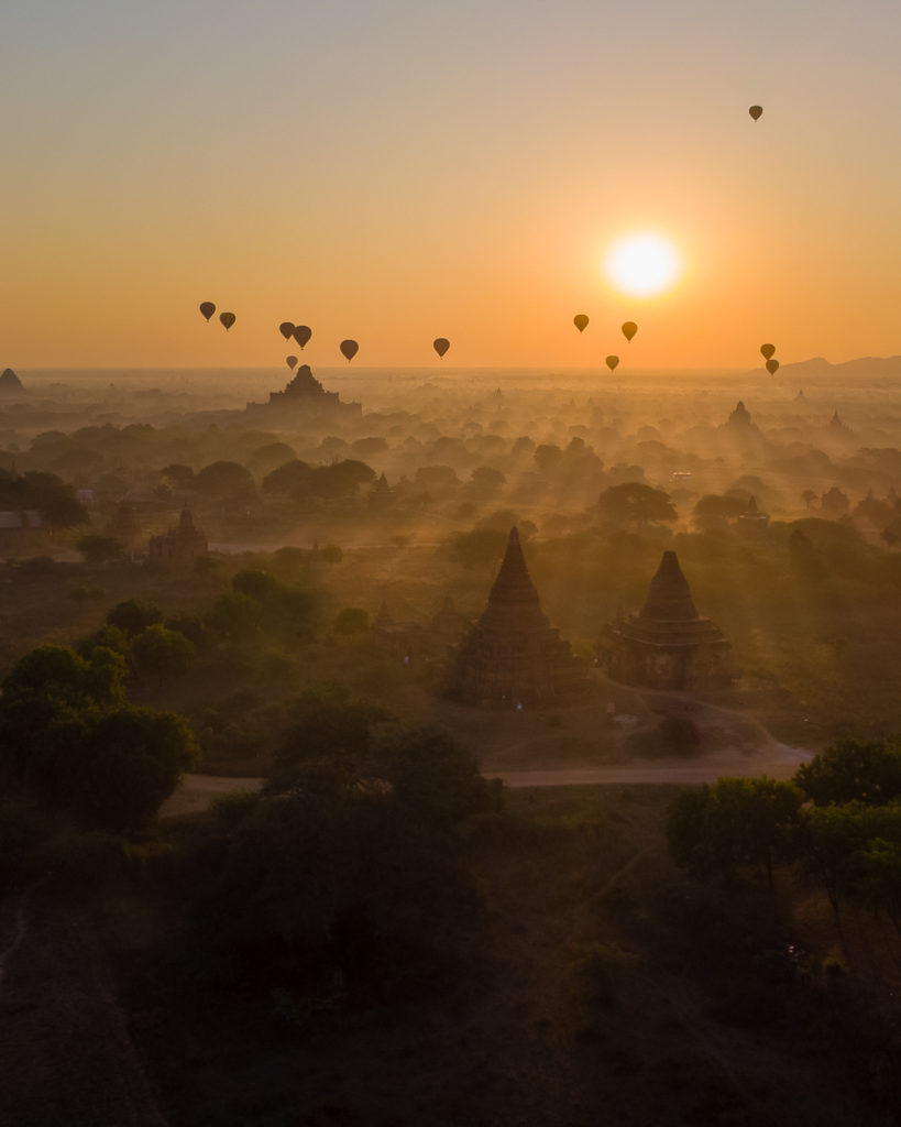 The hunt for the perfect sunrise spot in Bagan