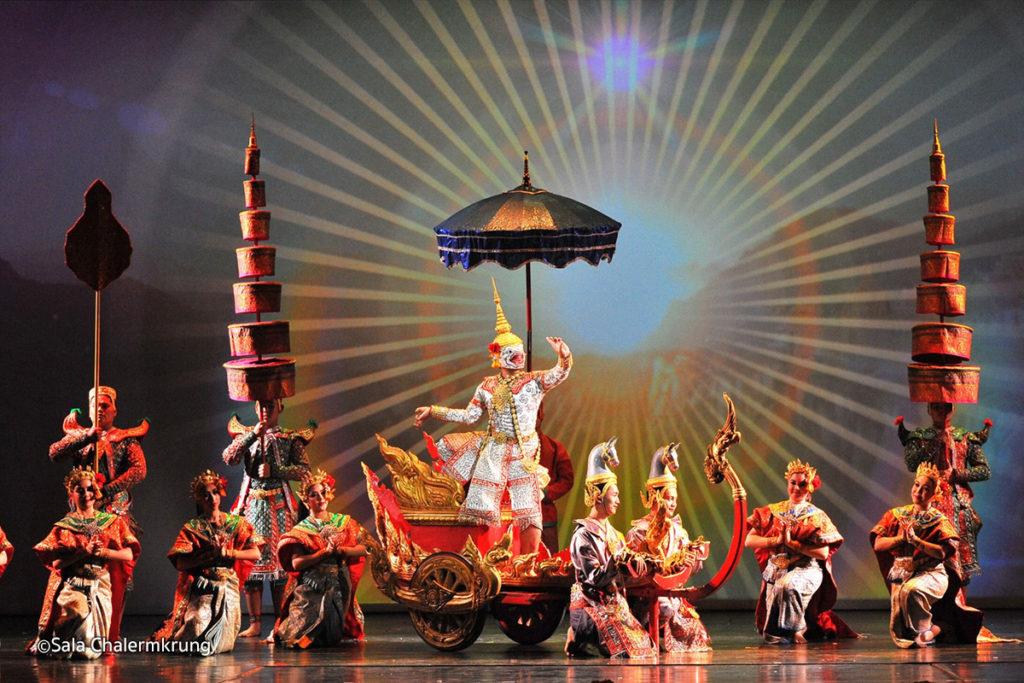 Khon theatre show Bangkok