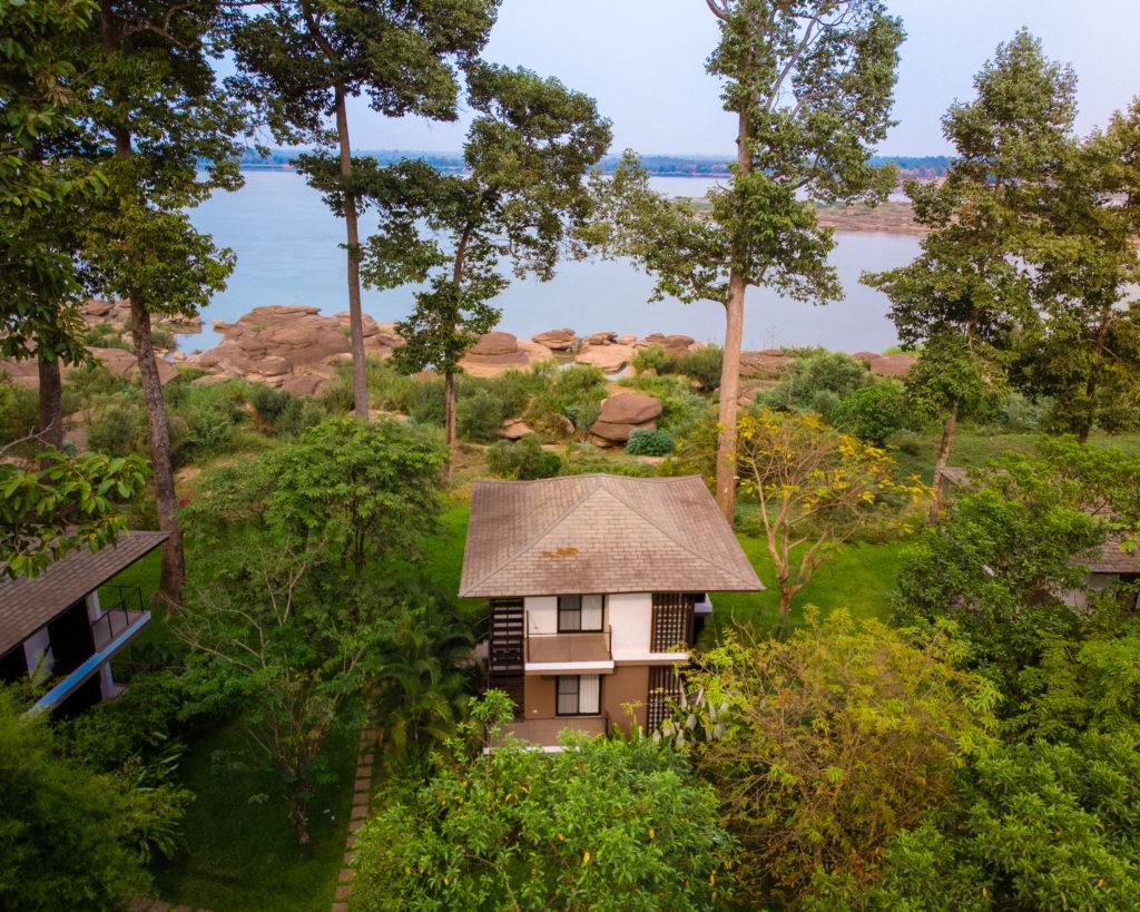 Real estate photo: River Resort Laos - Bungalow