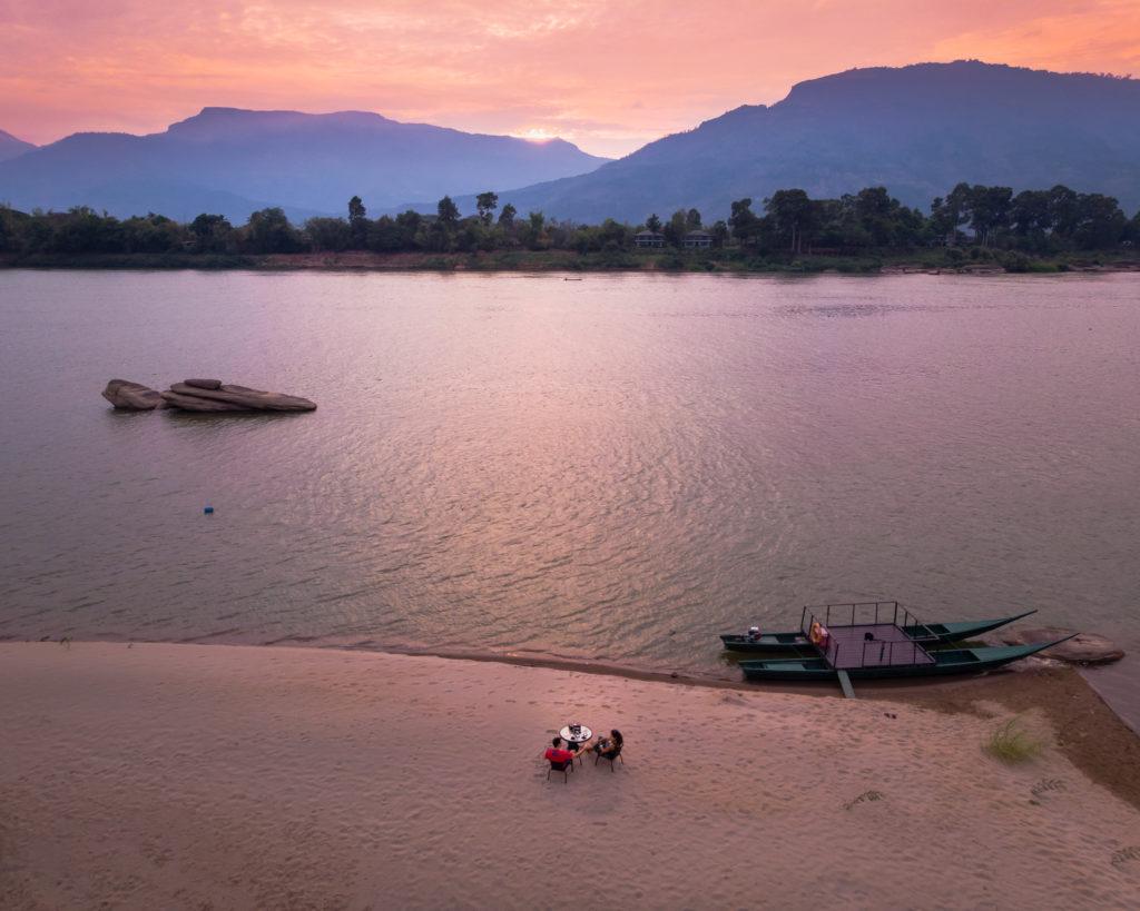Real estate photo: River Resort Laos - Sunset Cruise