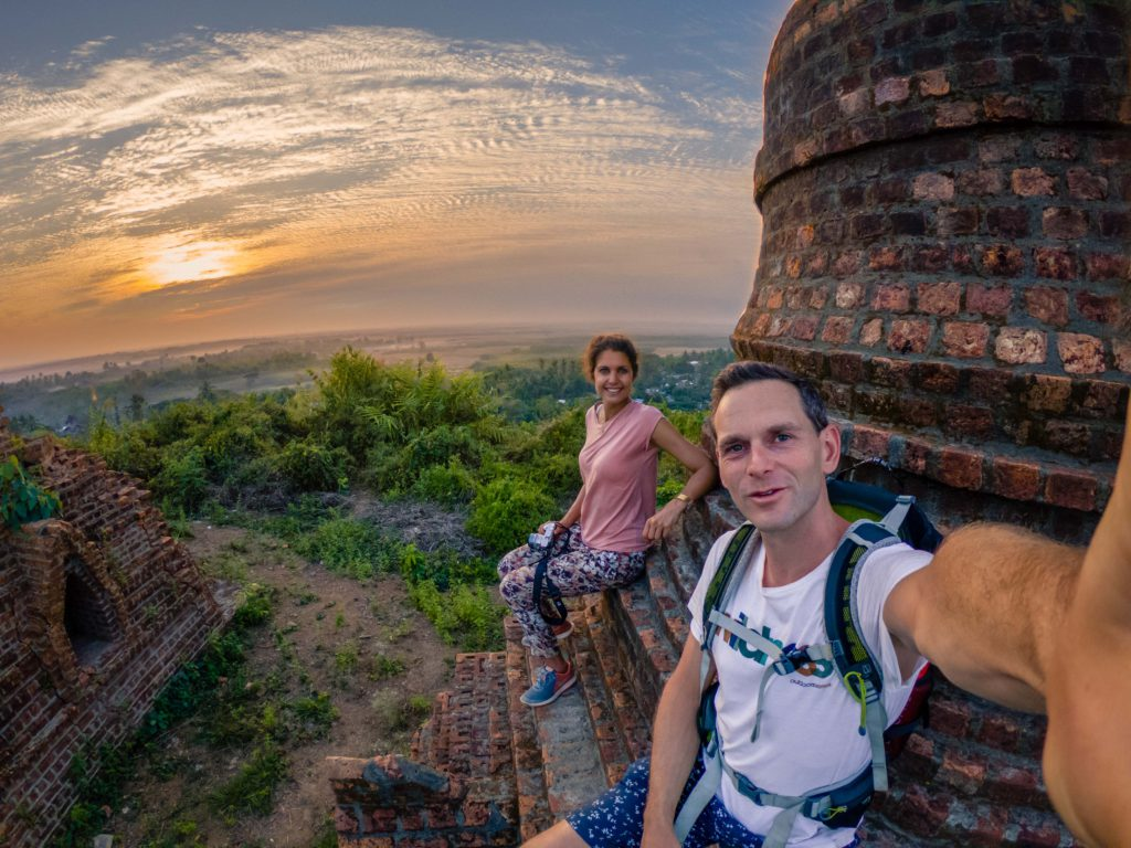 Mrauk-U sunset - Myanmar
