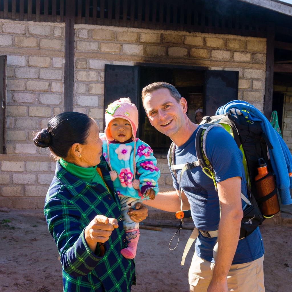 Homestay trekking - Myanmar