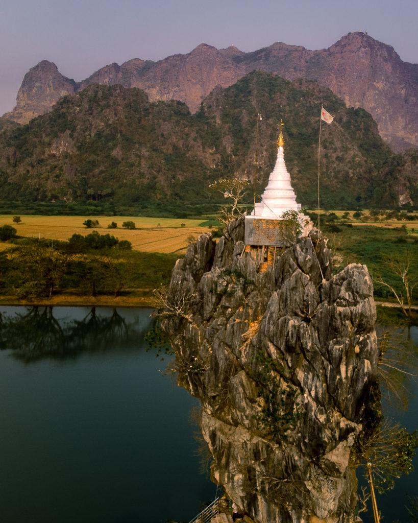 Kyauk Kalap monastery - Myanmar