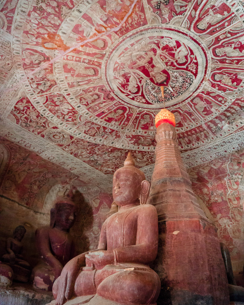 Po Wing Taung caves - Monywa