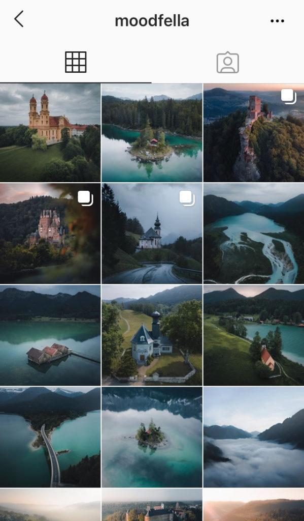 Moodfella Instagram feed