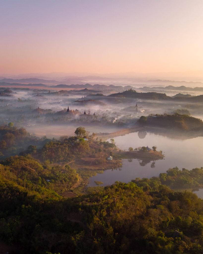Mrauk-U sunrise - Myanmar