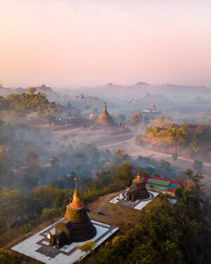 Why the ancient temples of Mrauk-U are the absolute hidden gem of Myanmar!