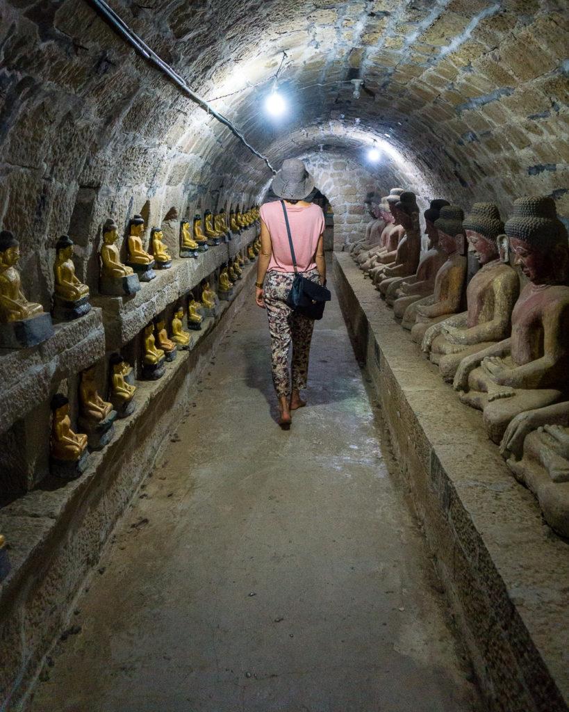 Mrauk-U interiors - Myanmar