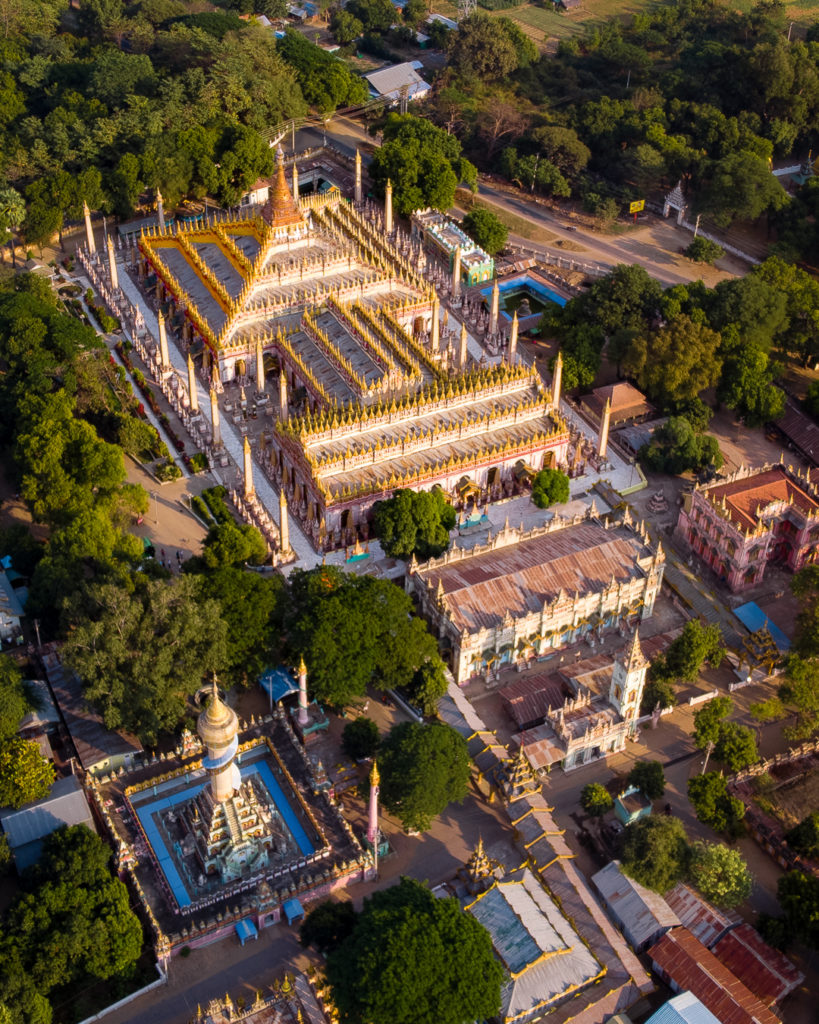 Thanbodday Paya pagoda - Monywa