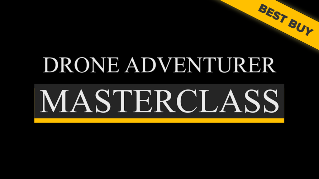 Drone Adventurer Masterclass